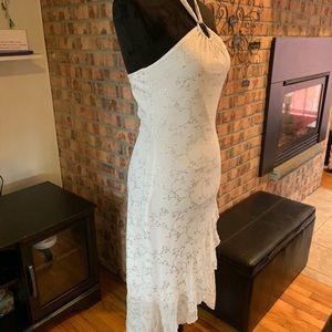 👗Gorgeous White Dress by Taboo Sz M